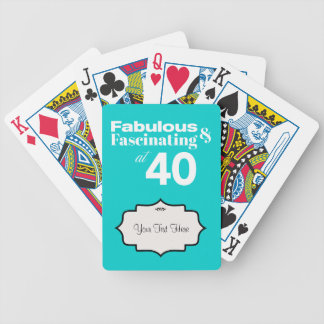 Fabulous and Fascinating at 40 Playing Cards