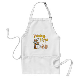 Fabulous and Fun 60th Adult Apron