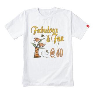 Fabulous and Fun 60th Zazzle HEART T-Shirt