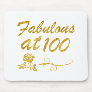Fabulous at 100 years mouse pad