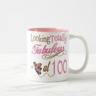 Fabulous at 100 Years old Mugs