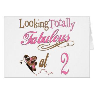 Fabulous at 2 card