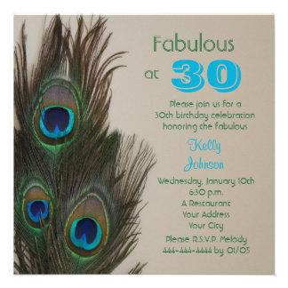 Fabulous at 30 30th Birthday Party Invitation