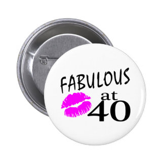 Fabulous at 40 button