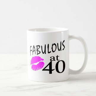 Fabulous at 40 coffee mug
