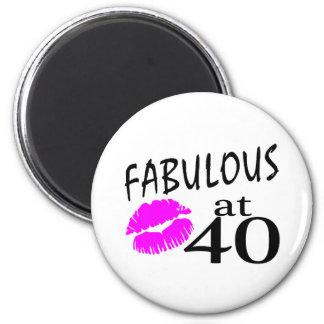 Fabulous at 40 magnet