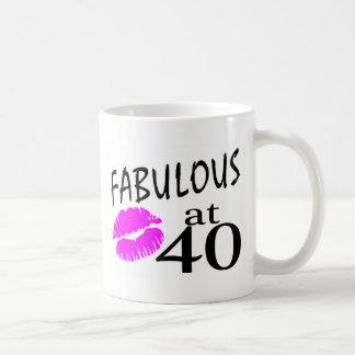 Fabulous at 40 coffee mugs
