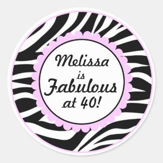 Fabulous at 40 Sticker