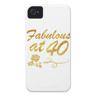 Fabulous at 40 years Case-Mate iPhone 4 case