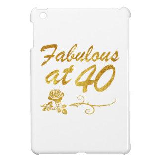 Fabulous at 40 years iPad mini cover