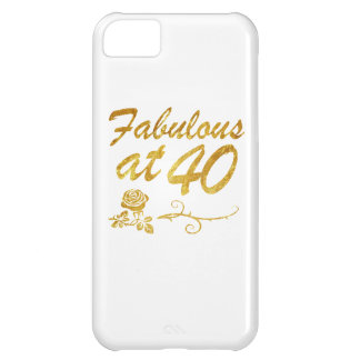 Fabulous at 40 years iPhone 5C case