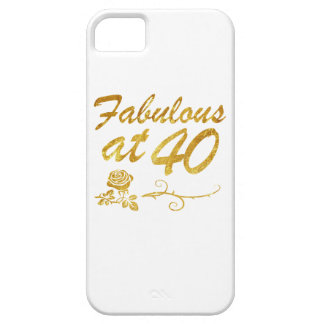 Fabulous at 40 years iPhone SE/5/5s case