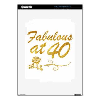 Fabulous at 40 years skin for iPad 2