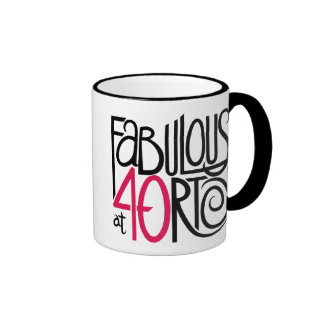 Fabulous at 40rty Mug