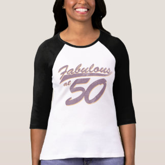 Fabulous at 50 Birthday T-Shirt