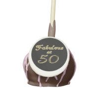 Fabulous at 50 Cake Pops