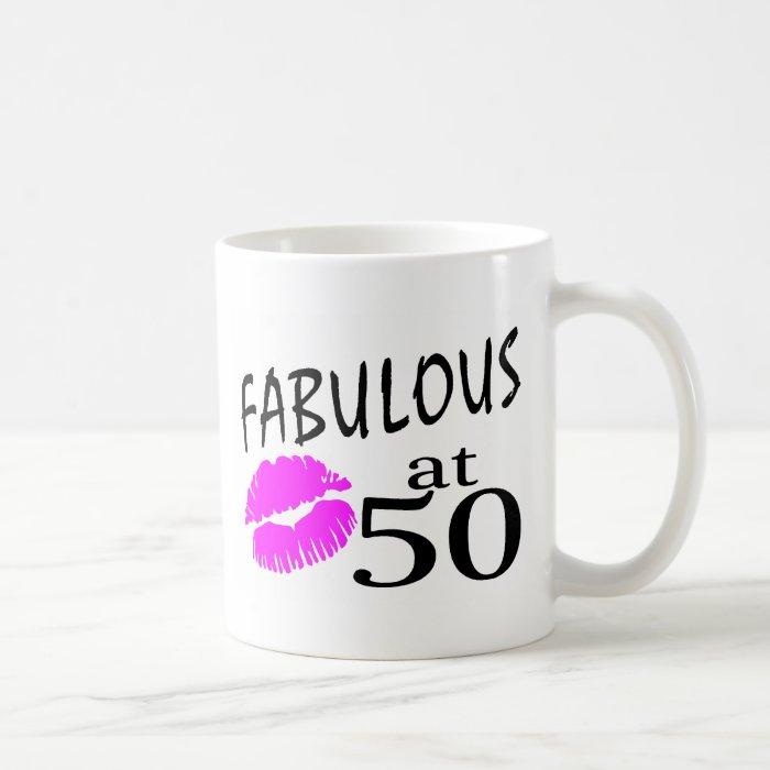 Fabulous at 50 coffee mug