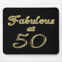 Fabulous at 50 Mousepad