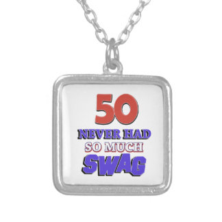 Fabulous at 50 custom necklace