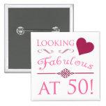 Fabulous At 50 Pins