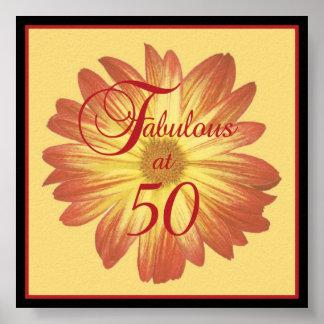 Fabulous at 50 Poster