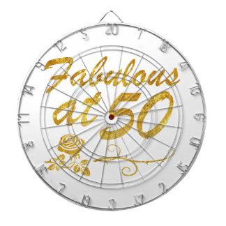 Fabulous at 50 years dart boards