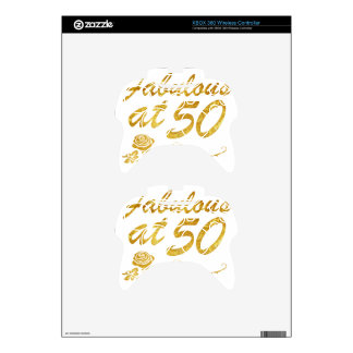 Fabulous at 50 years xbox 360 controller skin