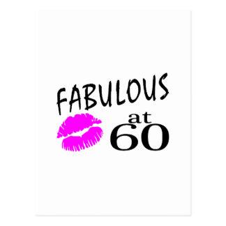 Fabulous at 60 postcard