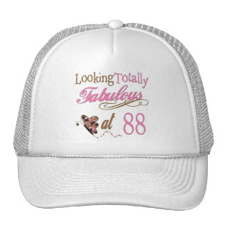 Fabulous at 88 trucker hat