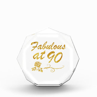 Fabulous at 90 years award