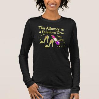 FABULOUS ATTORNEY DIVA DESIGN LONG SLEEVE T-Shirt