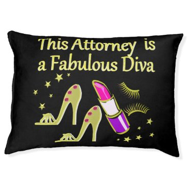 Lawyer Themed FABULOUS ATTORNEY DIVA DESIGN PET BED