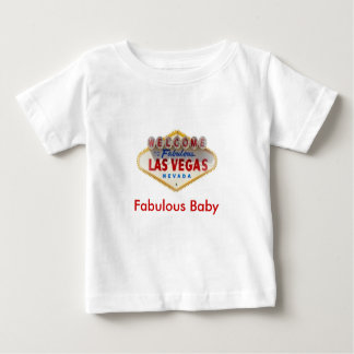 Fabulous Baby with Las Vegas Logo T-Shirt