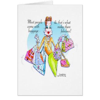 Fabulous Baggage card