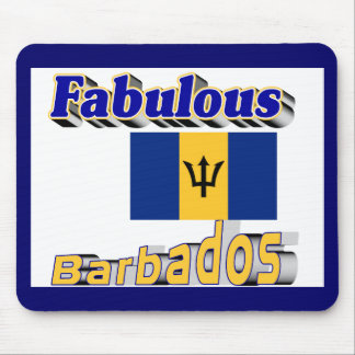 fabulous barbados mouse pad