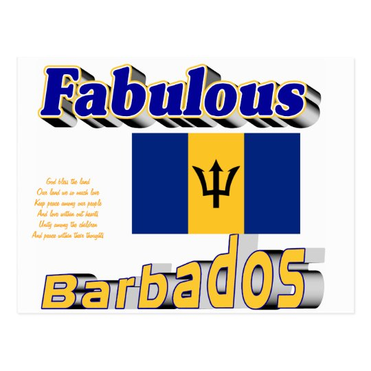 fabulous barbados postcard