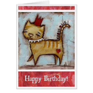 Fabulous - Birthday Card