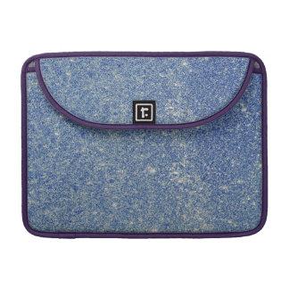 Fabulous blue glitter MacBook pro sleeve