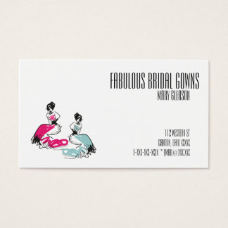 Fabulous Bridal Gowns Business Card