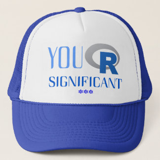 """Fabulous cap of You """"R"""" Significant"""