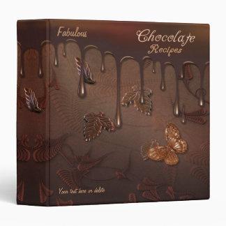 Fabulous Chocolate Recipe Binder