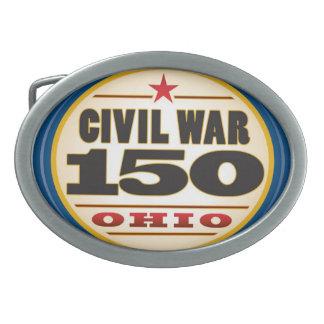 Fabulous Civil War Belt Buckle