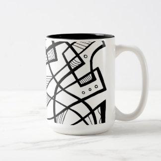 Fabulous Classic Excellent Retro Two-Tone Coffee Mug