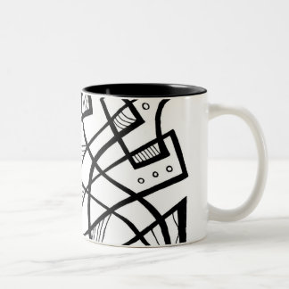 Fabulous Classic Excellent Retro Two-Tone Coffee Mug