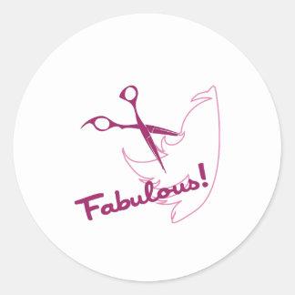 Fabulous! Classic Round Sticker