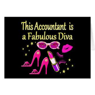 FABULOUS DIVA ACCOUNTANT DIVA CARD