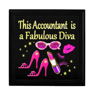 FABULOUS DIVA ACCOUNTANT DIVA GIFT BOX