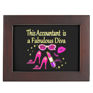FABULOUS DIVA ACCOUNTANT DIVA MEMORY BOX