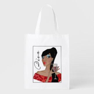 Fabulous DIVA Grocery Bag