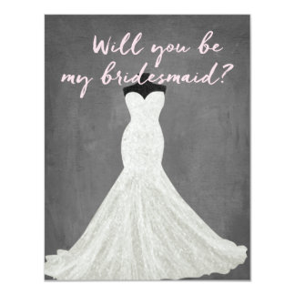Fabulous Dress | Bridesmaid Card
